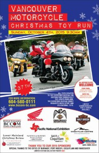 TOY RUN Oct 2015 Poster