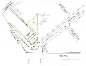 Map Whalley Corners